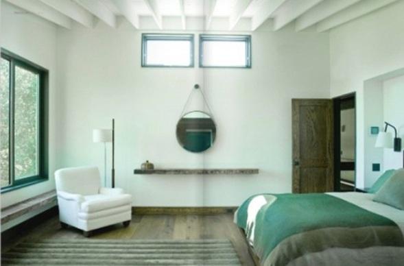 Cuartos color verde agua inspiraci n para el dise o del - Dormitorio verde ...