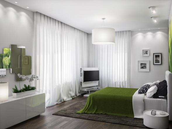 Kerala Baño Infantil:Los tonos más utilizados para el dormitorio son verde olivo, verde
