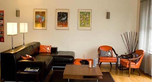 Salas peque as for Decoraciones modernas para casas