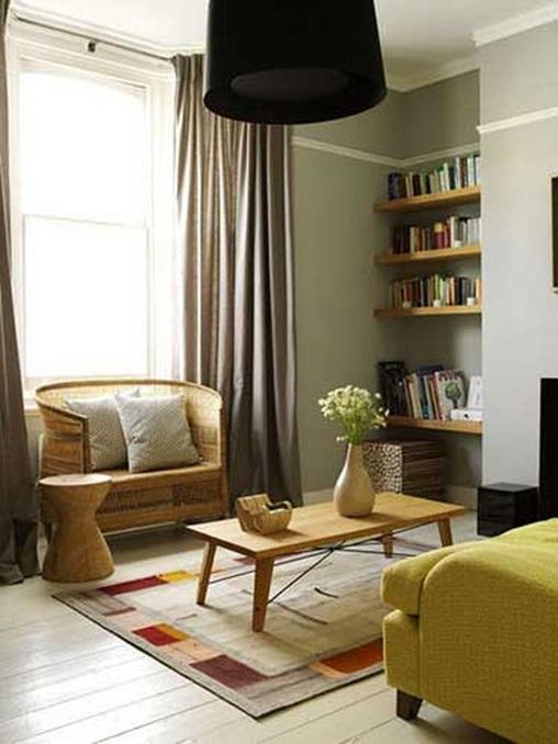 Como Decorar Sala Pequena Moderna ~ sala moderna pequeña