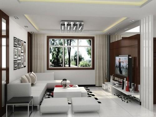sala pequeña moderna
