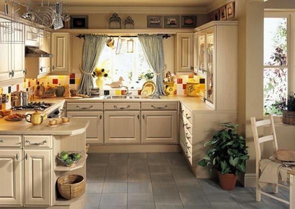 cocina estilo clasico 3 - Cocinas Clasicas