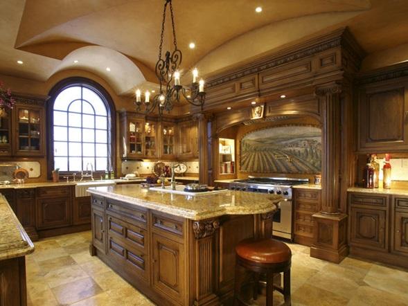 Fotos de Cocinas Clsicas con Muebles de Madera