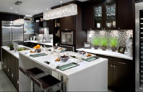 cocina-moderna-color-marrón-1