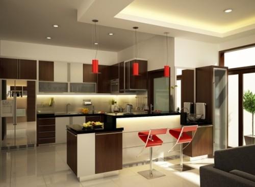 cocina-moderna-color-marrón-11