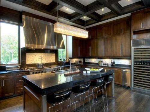 cocina-moderna-color-marrón-2
