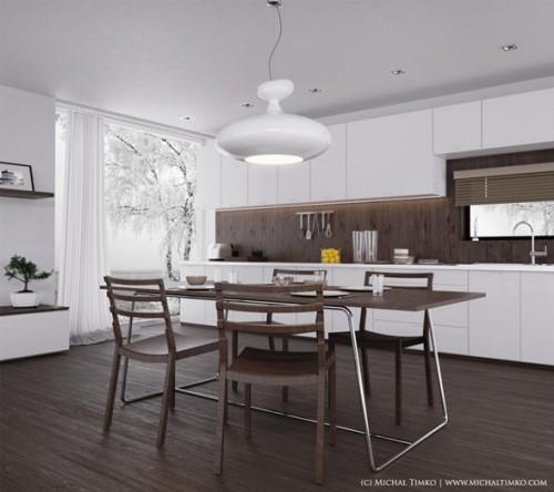 cocina-moderna-color-marrón-8