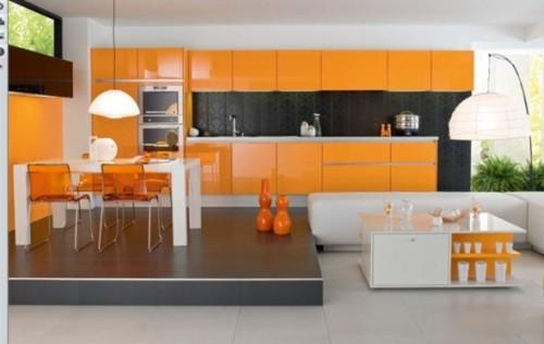 cocina-moderna-color-naranja-12