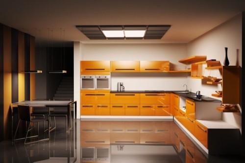 cocina-moderna-color-naranja-2