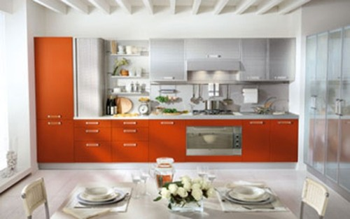 cocina-moderna-color-naranja-5