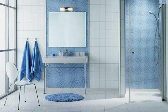 Imagenes De Baños Verdes:continuación más fotos de baños en color celeste
