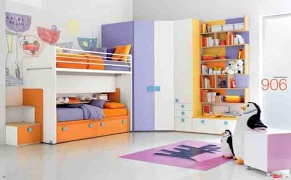 Dormitorios modernos con literas para ni os - Children bedroom furniture cheap ...