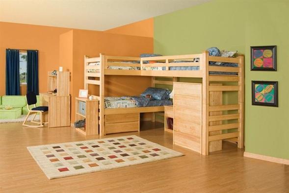 dormitorio cama litera nios