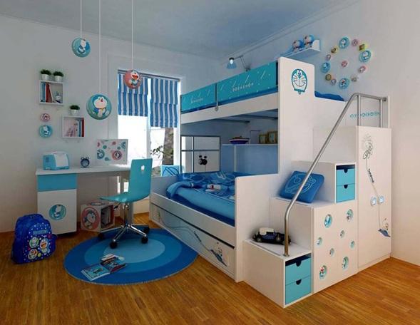 Dormitorios modernos con literas para ni os - Dormitorio para ninos ...