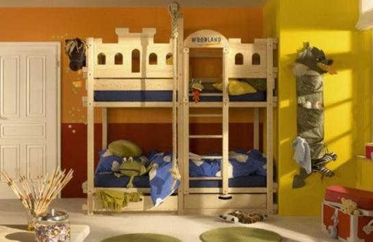 Dormitorios modernos con literas para ni os - Tobogan infantil ikea ...
