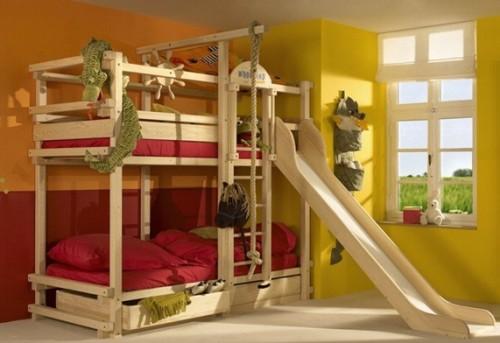 dormitorio-cama-litera-niños
