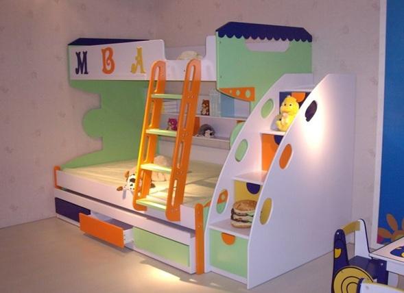 Camas Dobles Infantiles Para Espacios Reducidos Fabulous Litera Con - Camas-dobles-infantiles-para-espacios-reducidos
