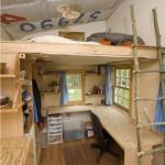 Dormitorios con Camas Loft para Jóvenes
