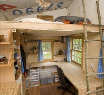 Dormitorios Con Camas Loft Para Jovenes Ideas Y Fotos - Cama-loft