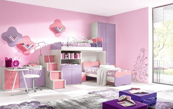 Dormitorios modernos con literas para ni os for Recamaras literas juveniles