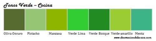 tonos-de-verde