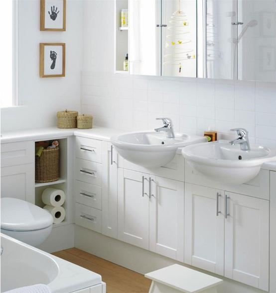 Baños Beige Con Blanco: color es tan seductor y elegante que puedes considerar para el baño