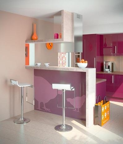 barra cocina abierta pequeña