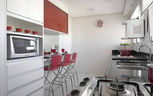decoracao cozinha pequena retangular:11 Fotos Cocinas Pequeñas Con