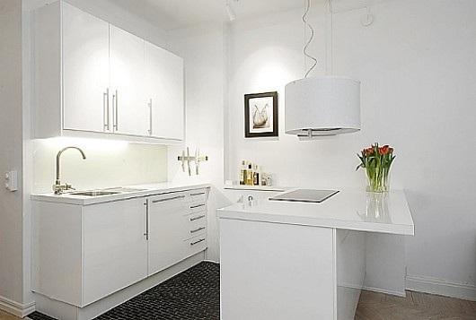 Fotos cocinas peque as con barra for Cocinas minimalistas pequenas