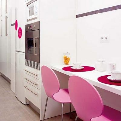 Fotos cocinas peque as con barra for Banquetas para barra de cocina