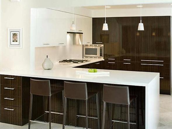 Cocinas peque as en forma de l - Diseno de cocina 3d ...