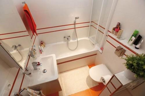 foto baño pequeño blanco