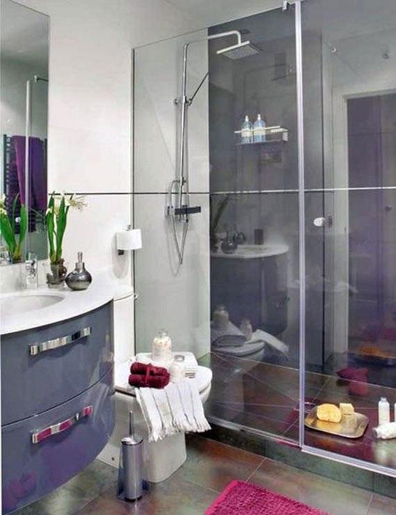 Baños Hermosos Fotos:Observa estos baños pequeños que con poco espacio disponible se