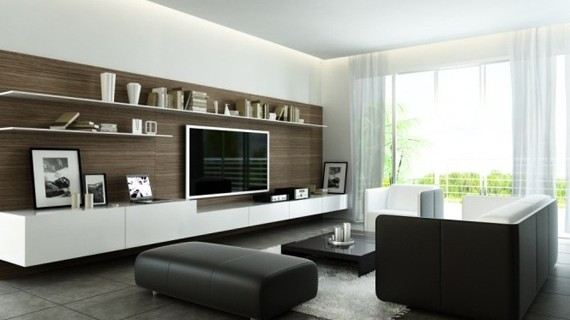 Salas modernas for Salas modernas en espacios pequenos