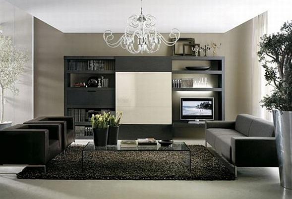 Salas Con Sofs Color Negro