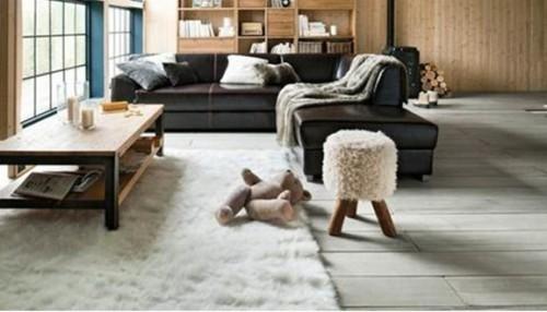 sala sofá de cuero modular