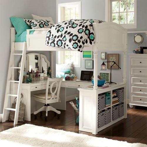 area estudio dormitorio juvenil