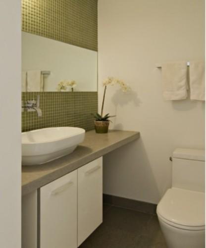 baño azulejos color verde