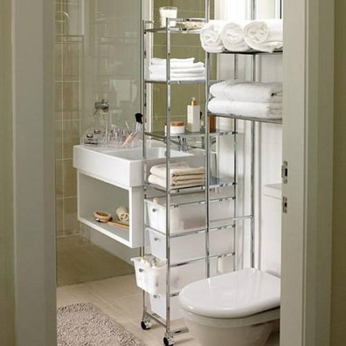 baño pequeño organizar