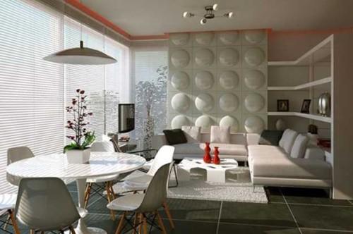 foto sala y comedor moderno