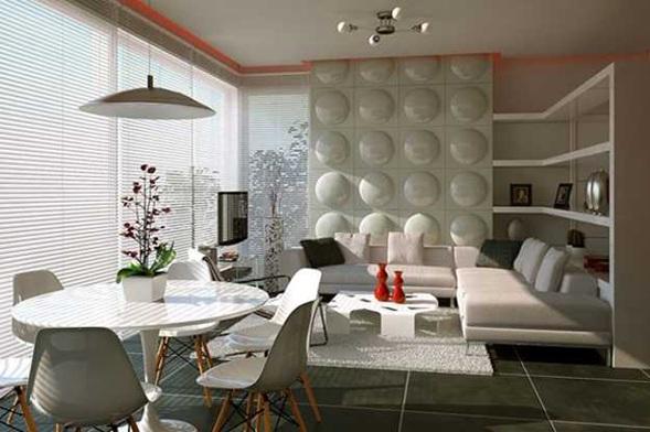 Fotos de sala y comedor juntos for Living with dining room design ideas