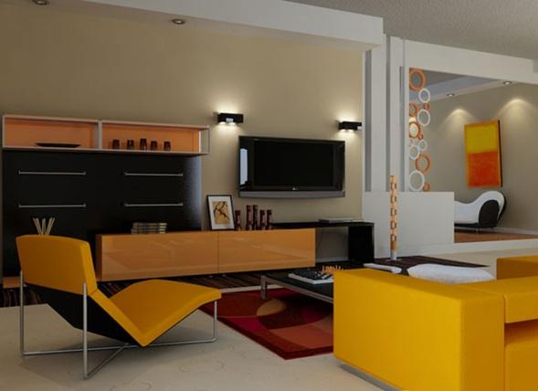 Iluminar tu sala moderna for Ufficio decor