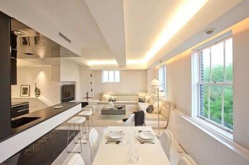 iluminación sala ambiente compartido