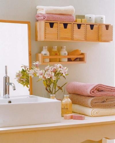 organizar baño pequeño
