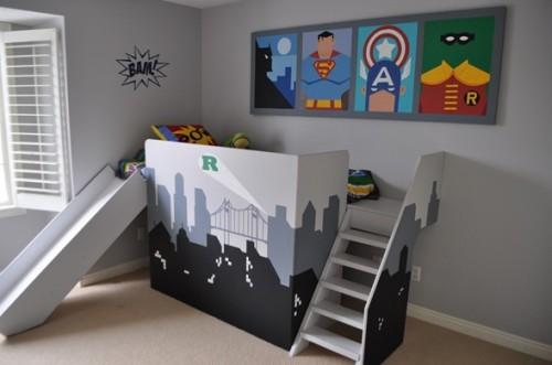 dormitorio-niño-superhéroes