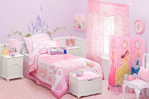 Lindos dormitorios de princesas para ni as - Habitaciones infantiles disney ...