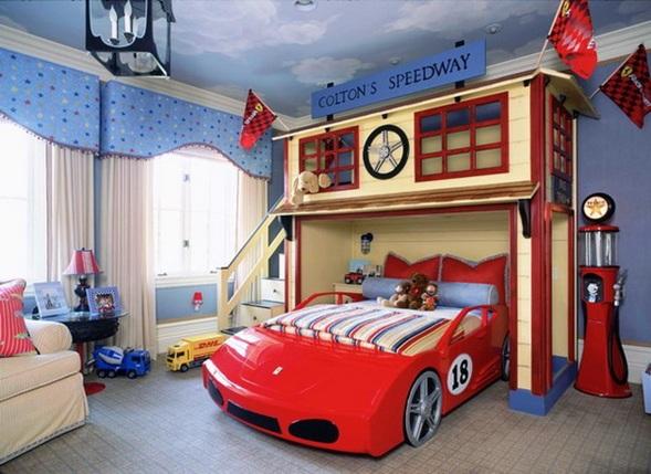 Dormitorios tem ticos para ni os varones - Dormitorios de cars ...