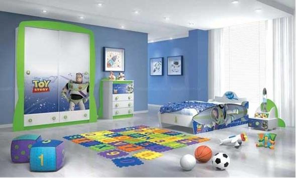 Dormitorios tem ticos para ni os varones for Ideas para decorar habitacion nino de 3 anos