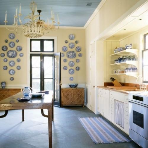 Fotos Cocinas En Color Azul