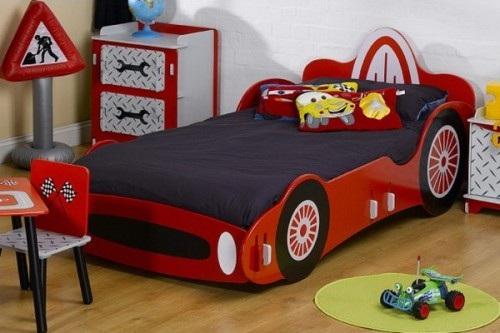 Dormitorios con camas coche para ni os for Ideas recamaras para ninos